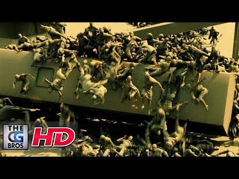 "CGI VFX Breakdowns: ""World War Z, Jerusalem Sequence"" by MPC"