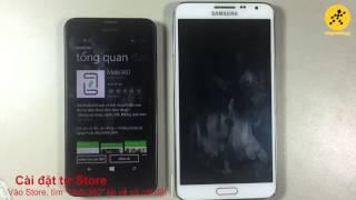 Chuyển dữ liệu từ Windows phone sang Android ( Mobi360)