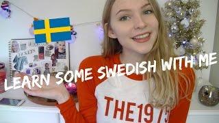 HOW TO SPEAK SWEDISH // Rebecca Ellie