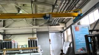 Кран мостовой опорный 3,2 тонны - ООО РПФ Триада, Москва(, 2014-04-15T11:11:10.000Z)