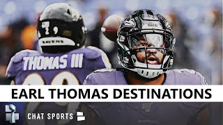Earl Thomas Released: Which 5 NFL Teams Are The Most Likely To Sign The Free Agent Safety In 2020?