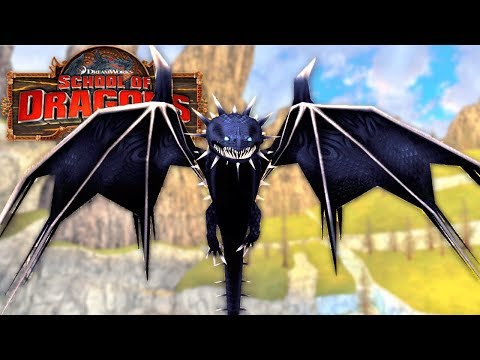 Escola de Dragões - Dragão Estridente TITÃ [SKRILL DRAGON] School of Dragons [#261]