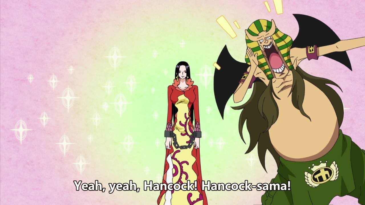 One piece - Introducing Boa Hancock! Hannyabal Style - YouTube
