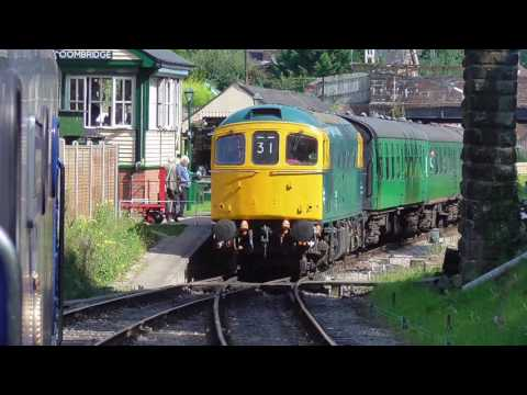 Spa Valley Railway - Behind 50026 'Indomitable' from Eridge to Tunbridge Wells West