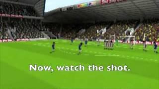 Sensible Soccer 2006 - Geremi Freekick