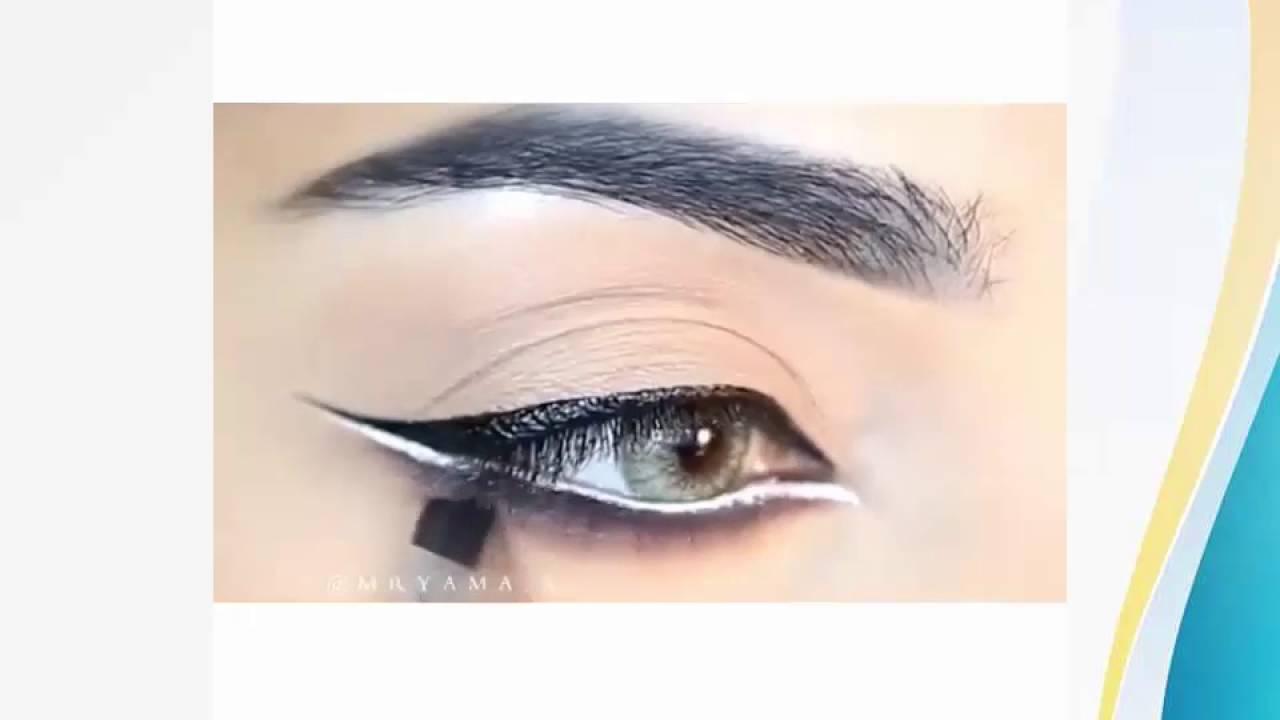 ccdf1fefe03a4 ايلاينر و مكياج عيون جذاب - YouTube