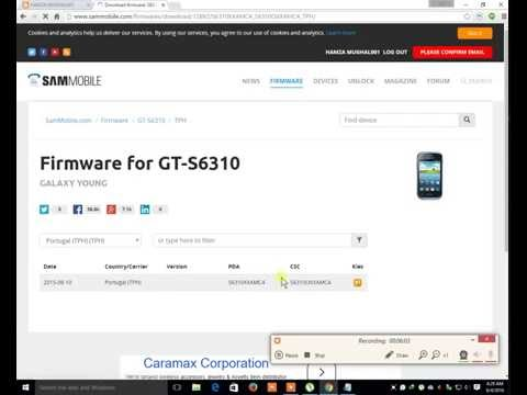 HOW TO DOWNLOAD FIRMWARE FOR ALL SUMSUNG FREE 1000% by How to Urdu/Hindi
