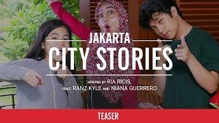 Video YTFF City Stories: Jakarta | Ria Ricis, Ranz & Niana | Teaser download MP3, 3GP, MP4, WEBM, AVI, FLV Desember 2017