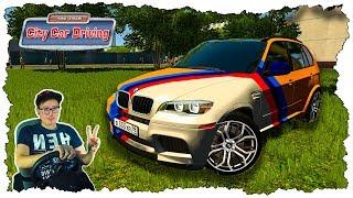 ДАВИДЫЧ ДАЛ ПОКАТАТЬСЯ НА BMW X5M Gold Edition - City Car Driving