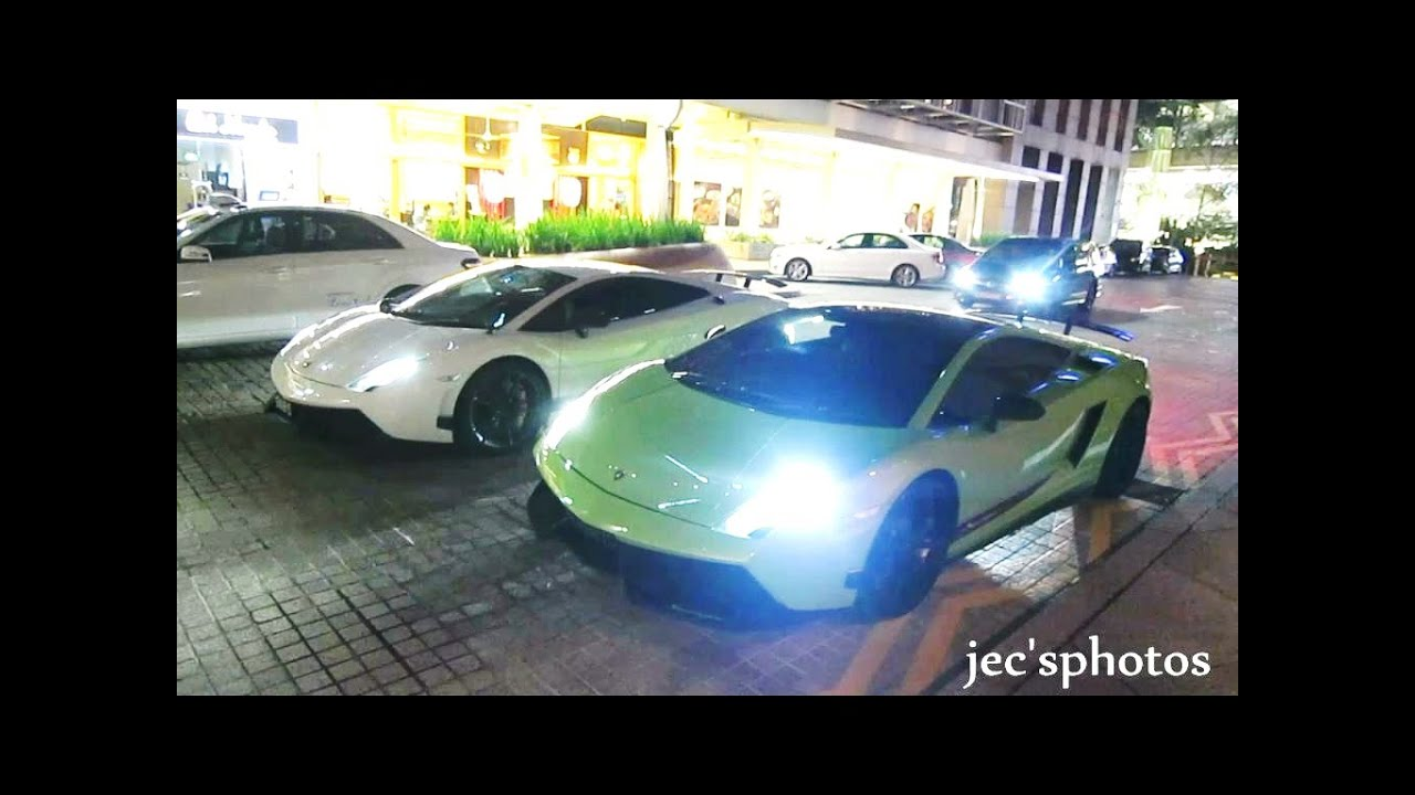 lamborghini gallardo lp570 4 superleggera duo green vs white