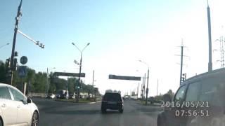 Авария 'Dodge Nitro' в хлам . Пермь 2016г.