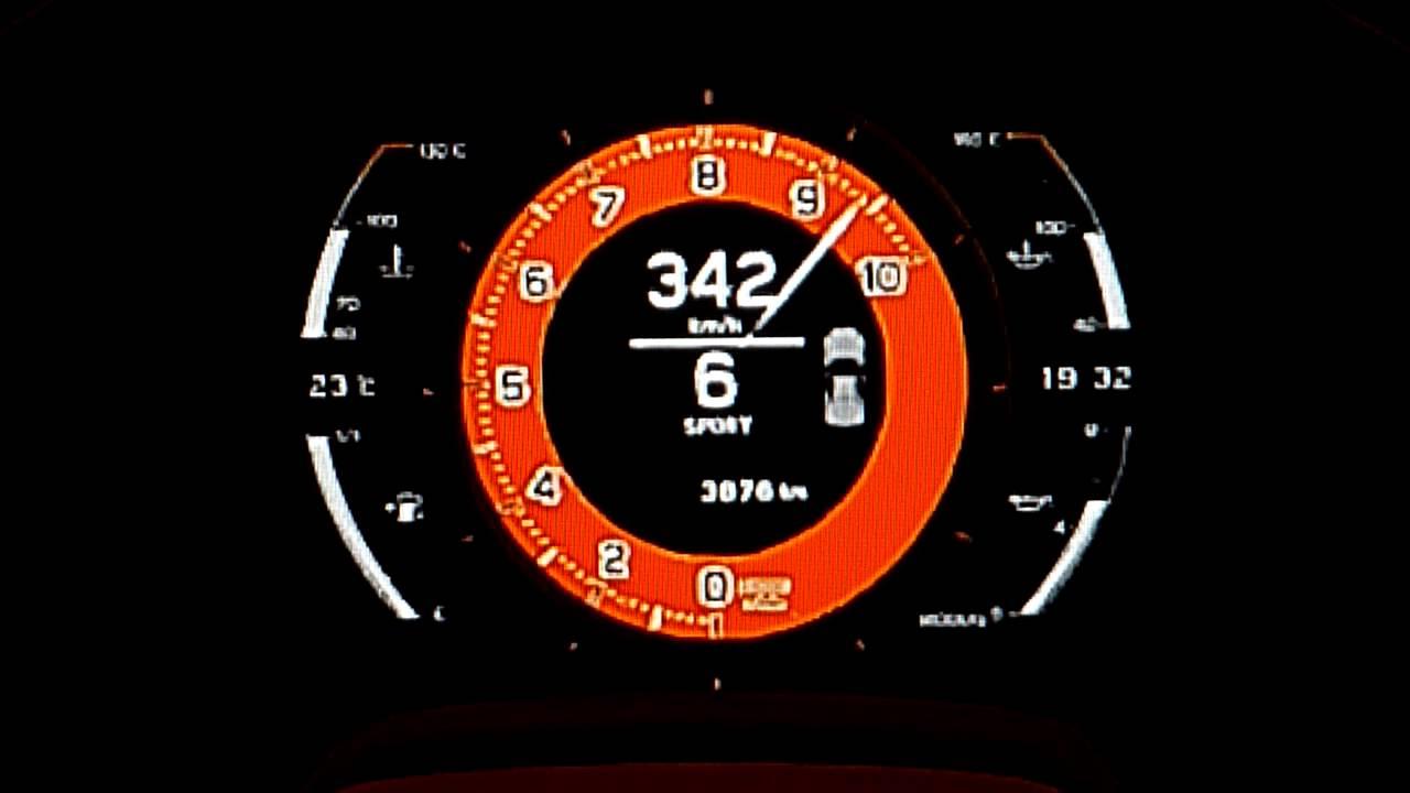 Lexus LFA Nurburgring Package Top Speed Run -GT6- - YouTube