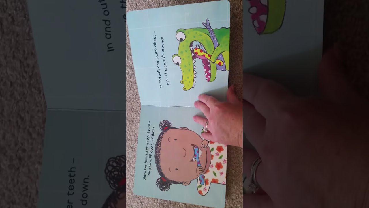 BEST Books for Toddlers: How to Brush Your Teeth With Snappy Croc ...