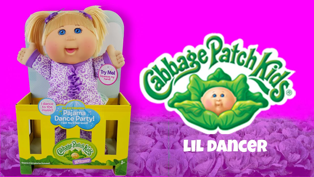Lil Dancer 1 2 3 Dance With Me Cabbage Patch Kid