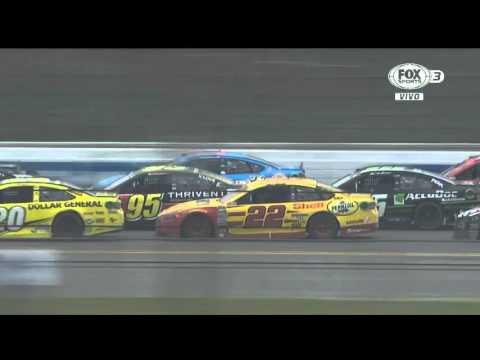 Choque de Danica Patrick y Matt Kenseth en Talladega - NASCAR Sprint Cup Series 2016
