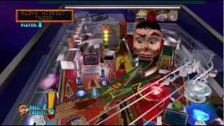 Funhouse Pinball Hall of Fame: The Williams Collection Xbox 360 gameplay 720P