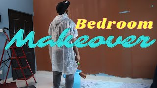 Bedroom Makeover - DIYPaint || Leo and Fam