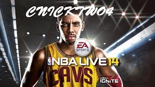 NBA LIVE 14 XBOX ONE Online Ranked Match | CAVS Vs Lakers | Down to the last SECOND!!!
