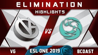 beastcoast vs VG [EPIC] ESL One Hamburg 2019 Highlights Dota 2
