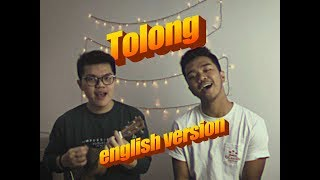 Gambar cover TOLONG (english version) Help cover ft. James Adam || Budi doremi