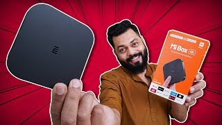 Xiaomi Mi Box 4K Unboxing And First Impressions ⚡⚡⚡ 4K Android TV Ka Maja Under Rs. 3500