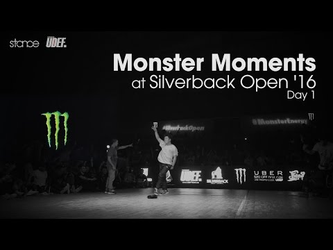 [day 1] MONSTER MOMENTS at Silverback Open 2016 // .stance
