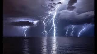 Şiddetli Gök Gürültüsü Ve Yağmur Sesi |relaxing Ra