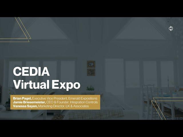 Connected Design Insider Talk: CEDIA Expo