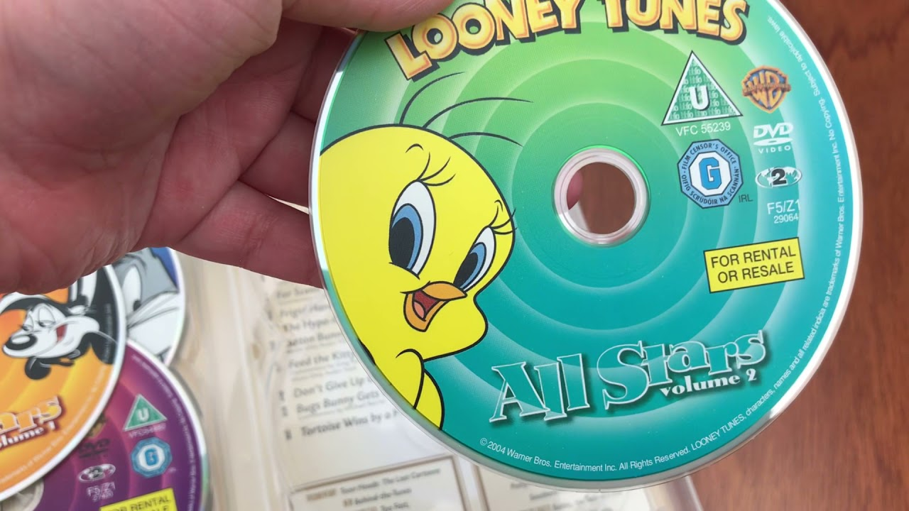 Download Looney Tunes The Complete Golden Collection 24 DVD Boxset Volumes 1-6 DVD Unboxing