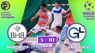 BHB group - GlobalLogic [Огляд матчу] (Gold Business League. 18 тур)
