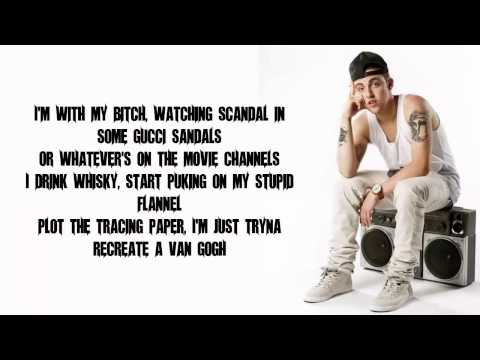 Mac Miller - I come in peace (Official HD Lyrics)