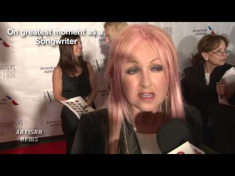 Cyndi Lauper Being Inducted Into The Songwriters Hall Of Fame