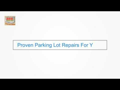 Parking Lot Repair Keller Texas - ASDierolf Concrete