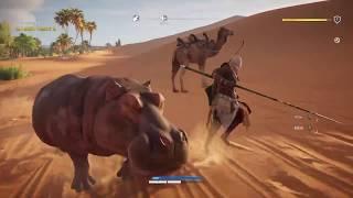 楽しくゲーム内を観光していると、カバの巣を発見!PS4liveで配信した時...