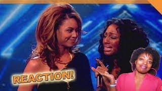 Alexandra Burke & Beyonce Knowles - X Factor - Listen - REQUEST REACTION!