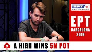 EPT BARCELONA Main Event, Day 5 (Cards-Up) - Part 2