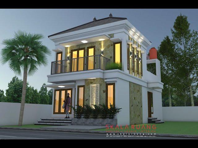 Desain Rumah Mediterania Ukuran 6 X 9 2 Lantai Youtubedownload Pro
