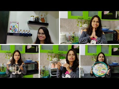 Indian Kitchen Essential Tools || My Kitchen Decoration Items Collections