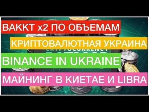 Новости криптовалют сегодня! BAKKT, Binance в Украине, майнинг в Китае, Libra и многое другое!