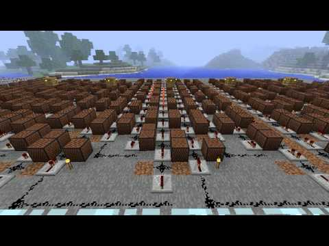 Portal 2 Trailer Music (Reconstructing Science) - Minecraft Note Blocks