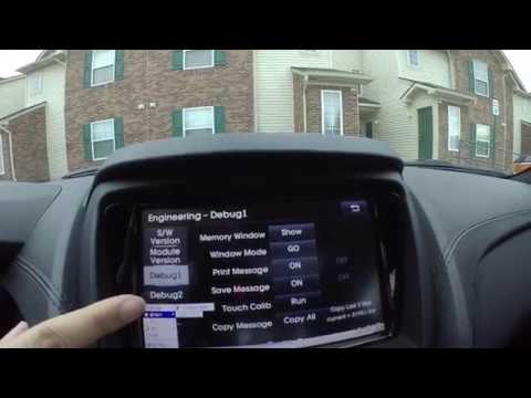 2015 Genesis Coupe 3 8 Nav Hack to access Engineering interface