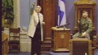 Denis Lortie «fusillade au Parlement de Québec», SRC, 8 mai 1984