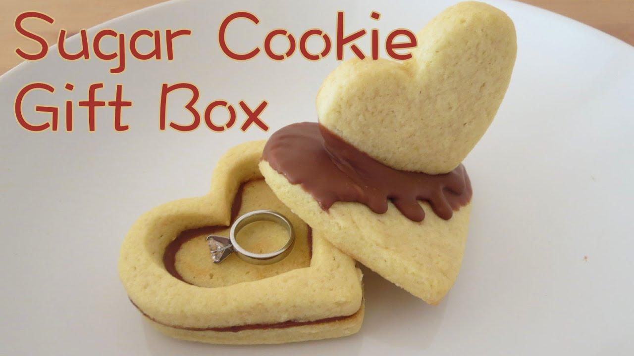 Cookie Gift Box Diy Sunny