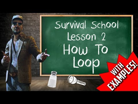 HOW TO LOOP | Dead By Daylight Survival School - Episode #2