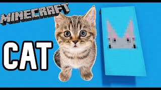 How to make a CAT banner in Minecraft!