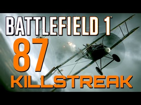 Battlefield 1: 87 Killstreak - 108 Kills on Operations! (PS4 Pro Multiplayer Gameplay)