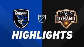 San Jose Earthquakes vs. Houston Dynamo | HIGHLIGHTS - June 26, 2019