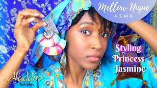 ASMR Disney Princess Jasmine - Personal Stylist visit for Aladdin movie premiere