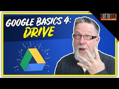 Google Drive - Google Basics Part 4