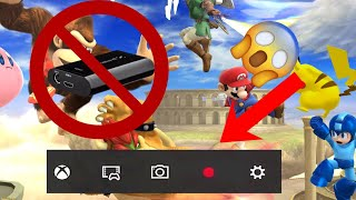 How to screen record WII U/Nintendo Switch without Capture Card